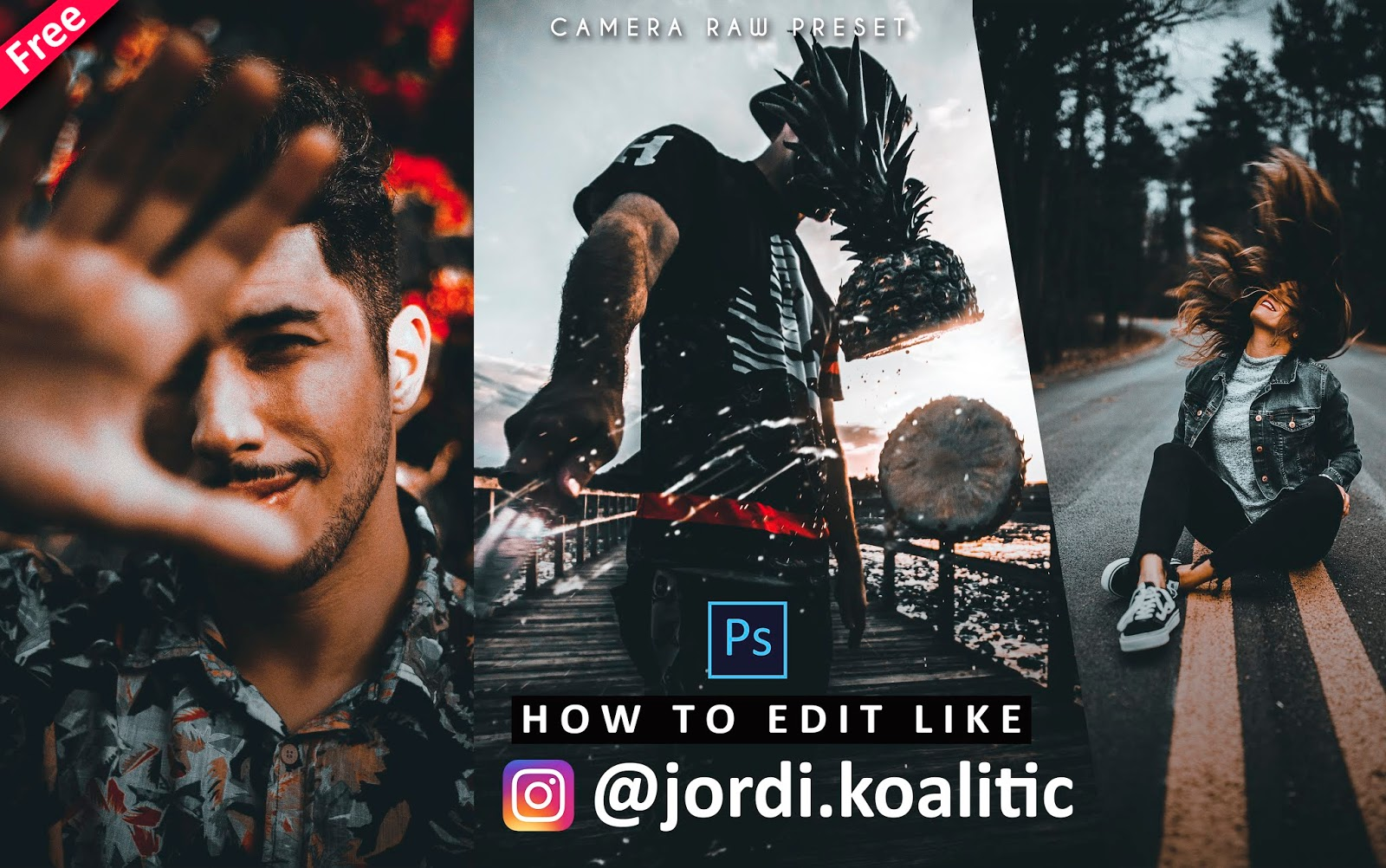 Download Jordi Koalitic Camera Raw Preset for Free | How to Edit Your Photos Like Jordi Koalitic in Photoshop
