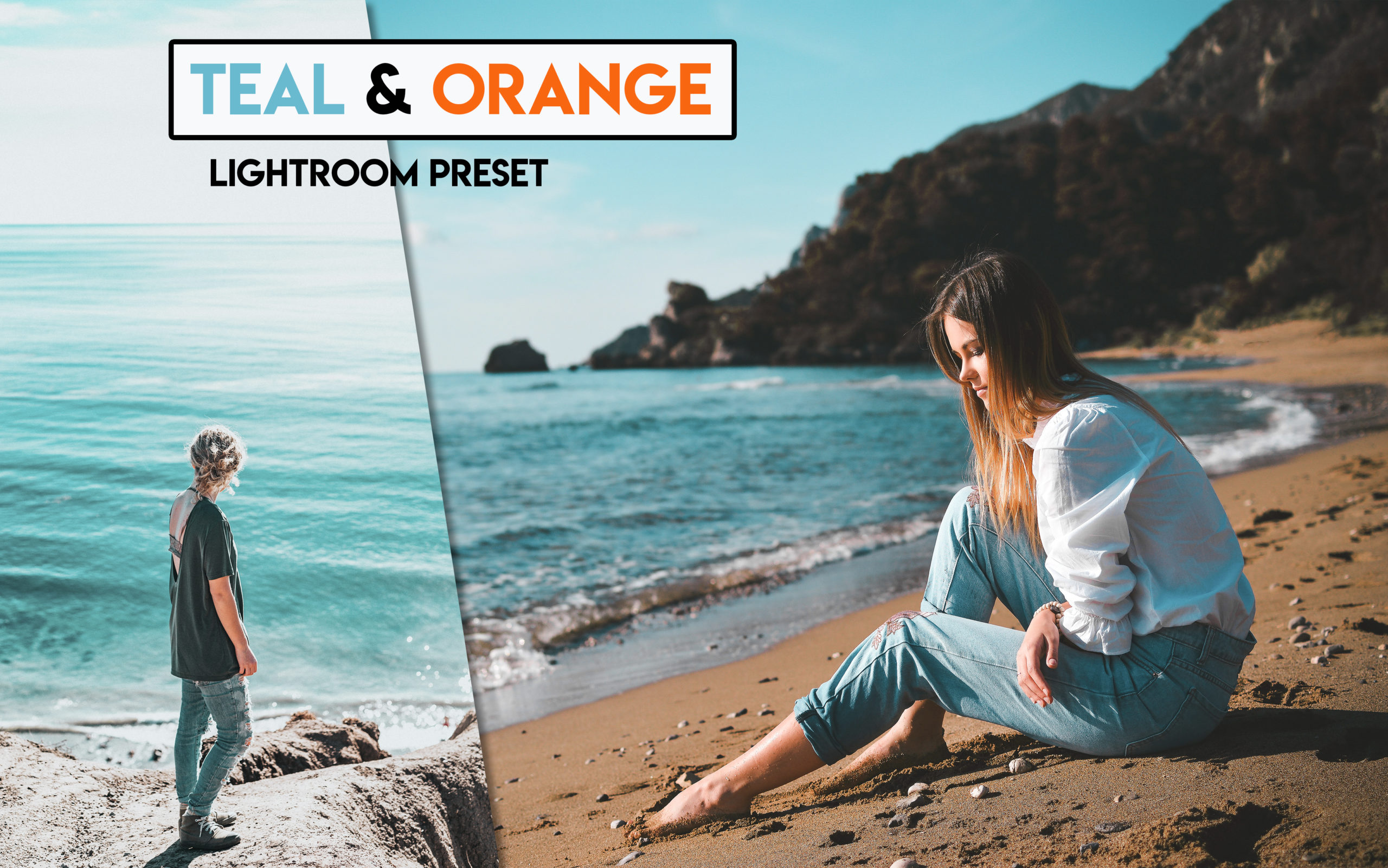 Teal & Orange Tone Lightroom Presets for Free | How to Make Teal & Orange Tone to Photos in Lightroom