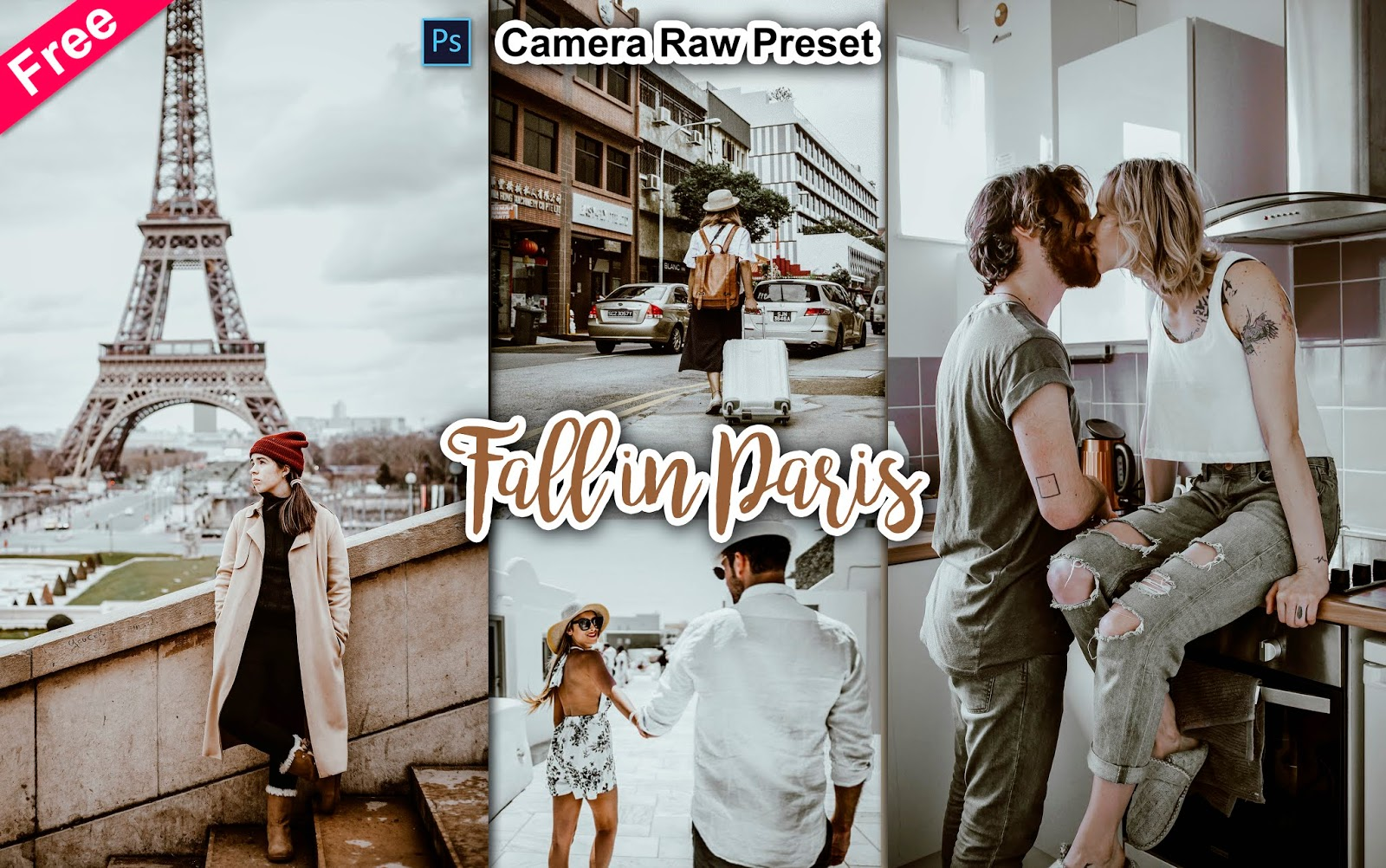 Download Fall in Paris Camera Raw Preset for Free   How to Edit Your Photos with Fall in Paris Effect in Photoshop