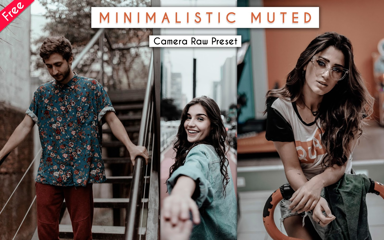 Download Minimalistic Muted Camera Raw Preset for Free | How to Edit Your Photos Like Minimalistic Muted Effect in Photoshop