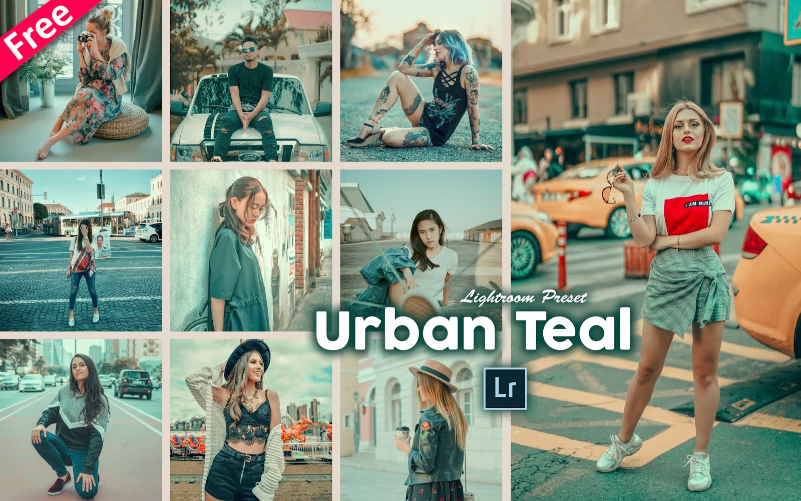 Urban Teal Tone Lightroom Presets for Free | How to Make Urban Teal Tone to Photos in Lightroom