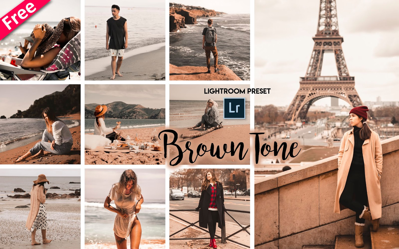 Brown Tone Lightroom Presets for Free | How to Make Brown Tone to Photos in Lightroom