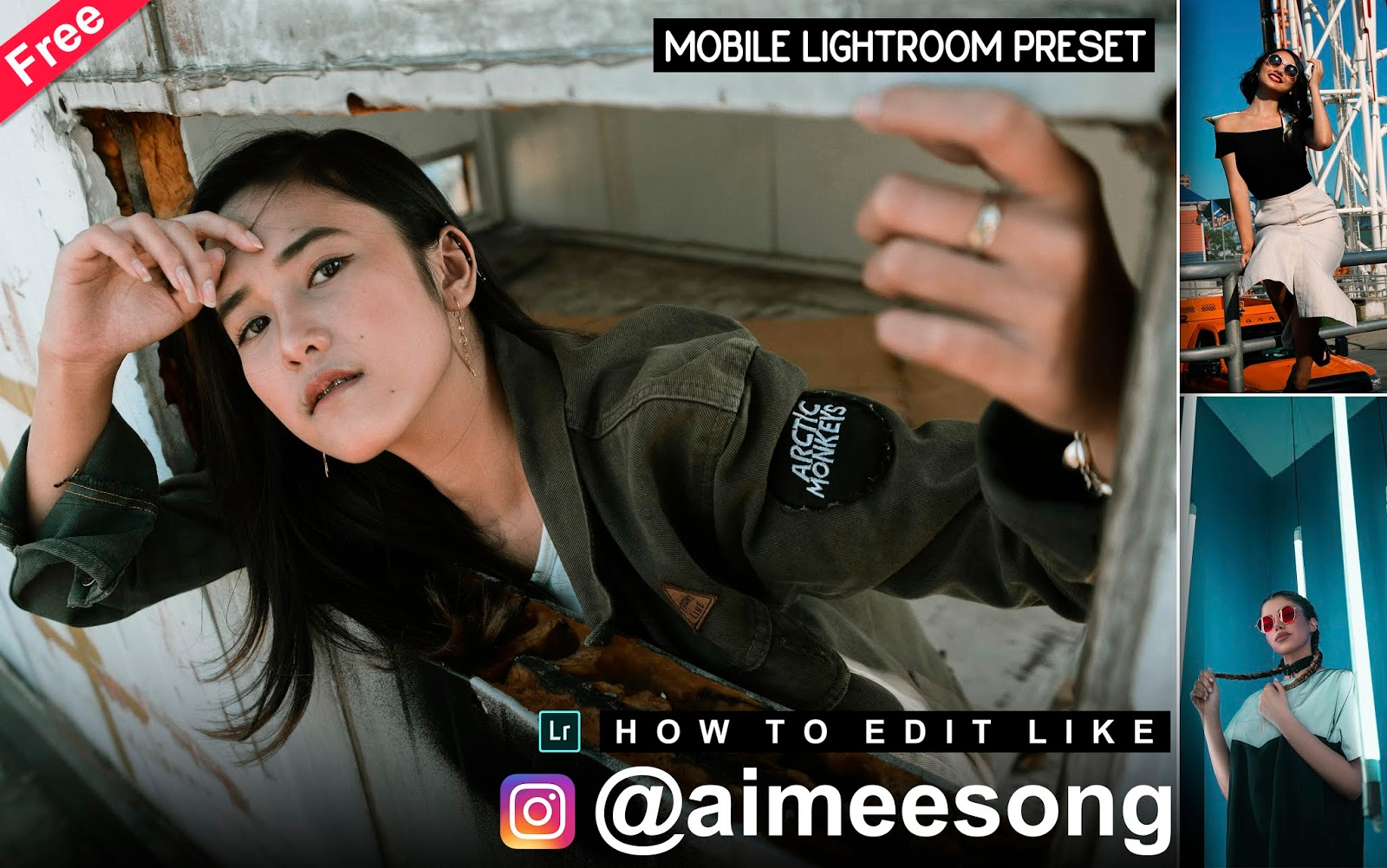 Download Aimeesong Inspired Mobile Lightroom Preset for Free | How to Edit Your Photos Like @aimeesong in Mobile Lightroom App