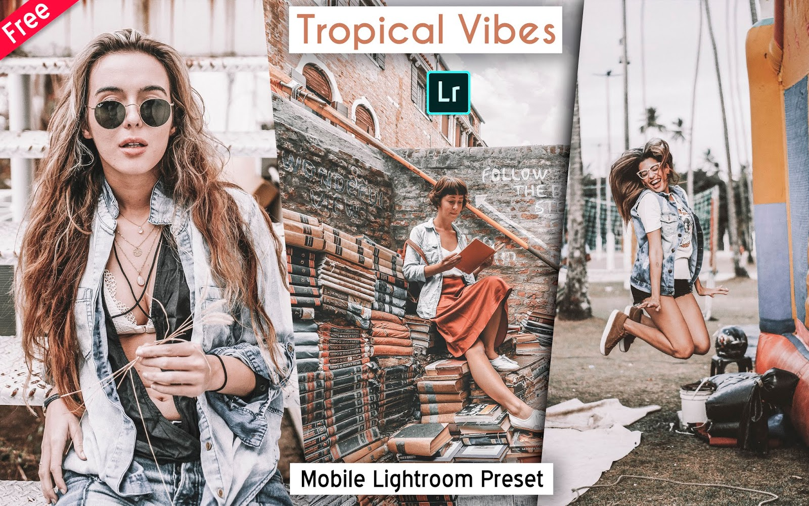 Download Tropical Vibes Mobile Lightroom Preset for Free | How to Edit Your Photos with Tropical Vibes Effect in Mobile Lightroom App