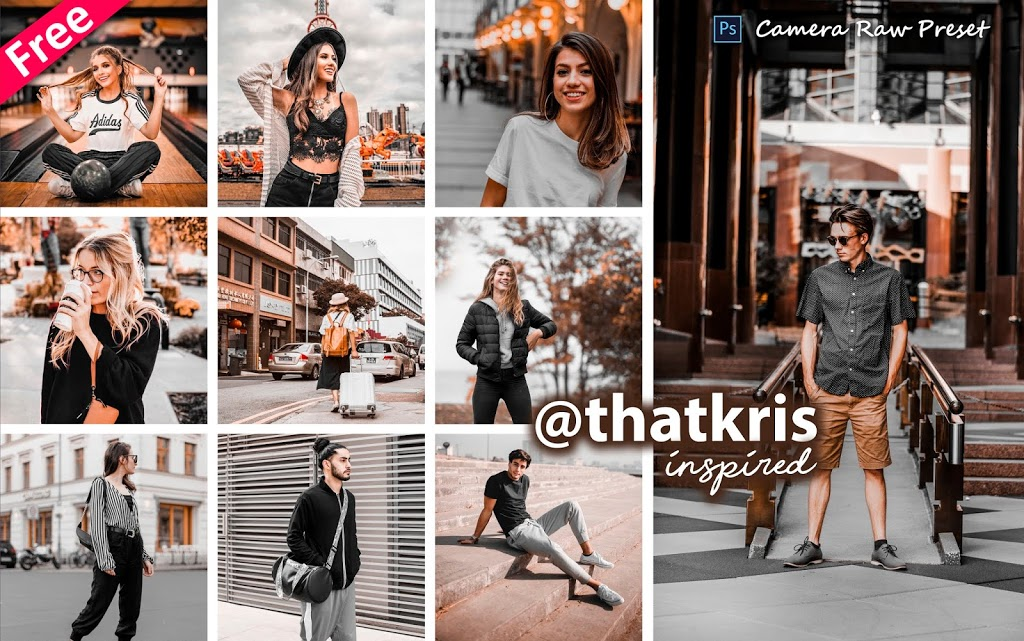 Download Thatkris Inspired Camera Raw Presets for Free | How to Edit Photos Like Thatkris in Photoshop cc