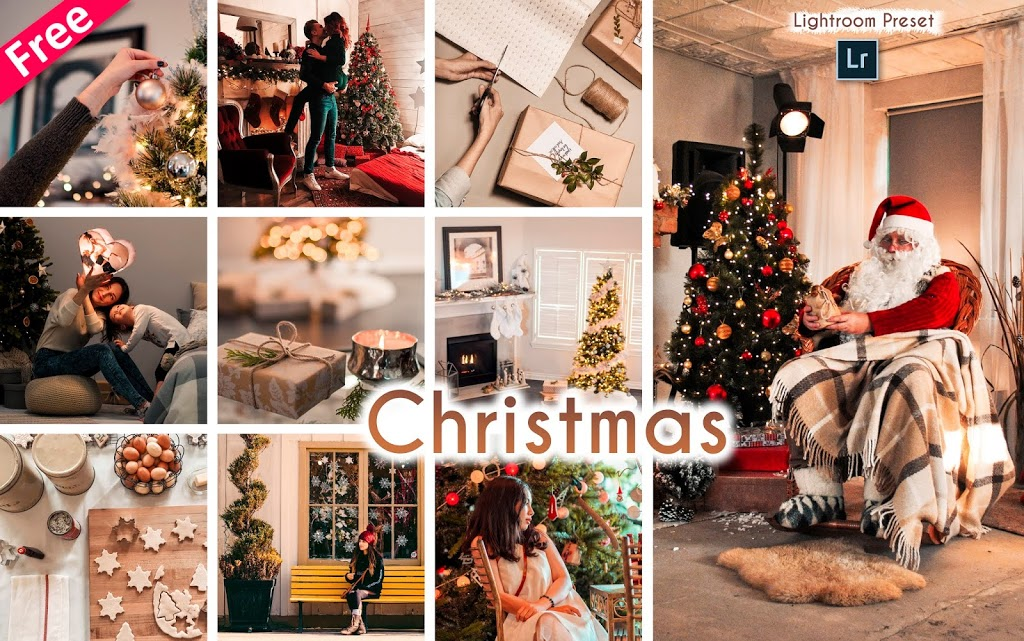 Download Christmas Lightroom Presets for Free | How to Edit Christmas Photos in Lightroom