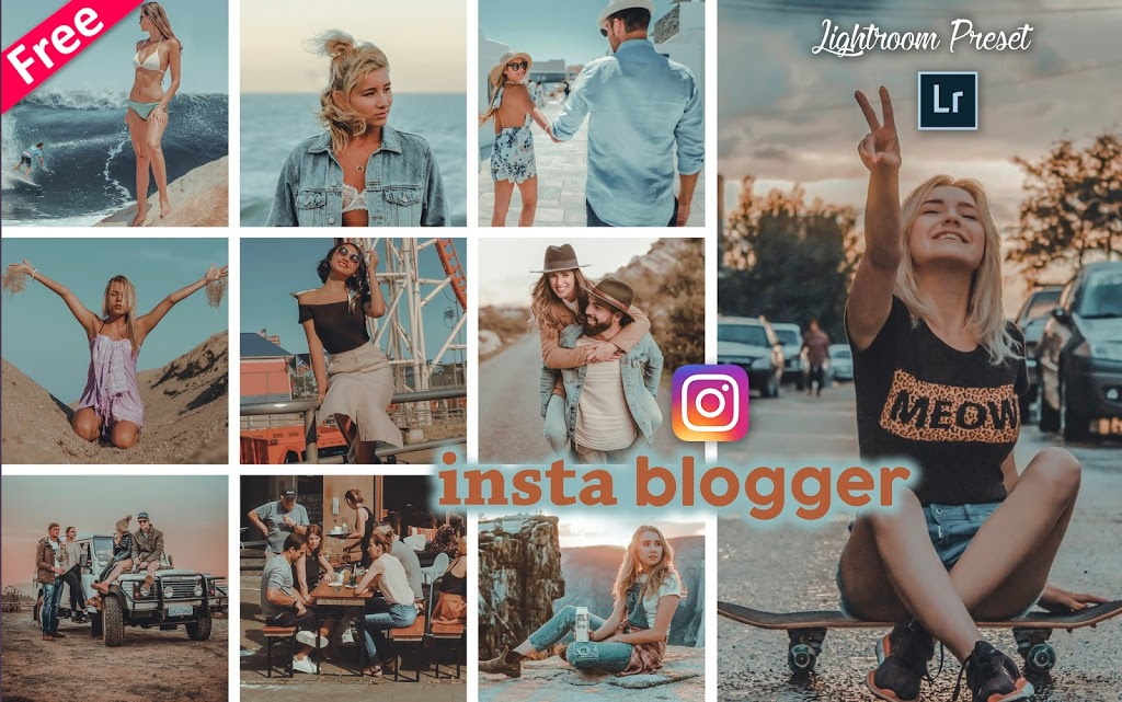 Download Insta Blogger Lightroom Presets for Free | How to Edit Instagram Photos in Lightroom