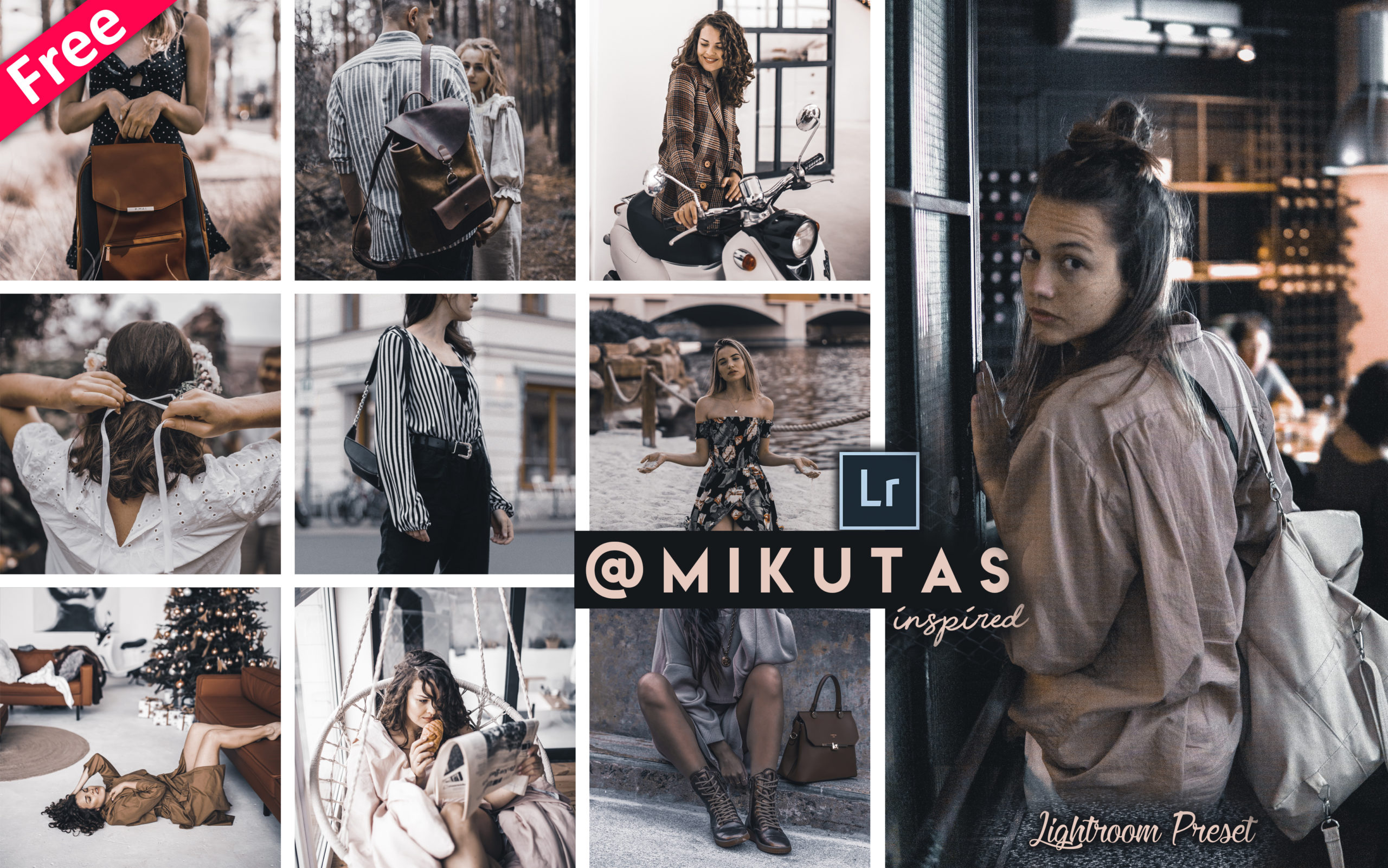 Download Mikutas Inspired Lightroom Presets for Free | How to Edit Photos Like Jacqueline Mikuta in Lightroom