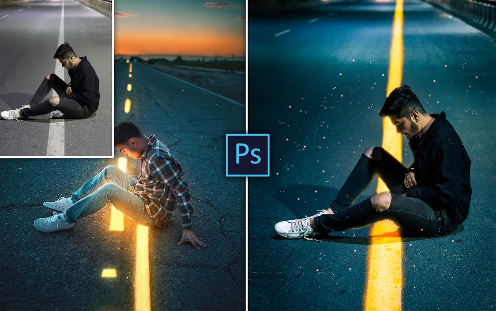 Calop Style Photo Editing in Photoshop cc | How to Edit Photos Like Calop in Photoshop