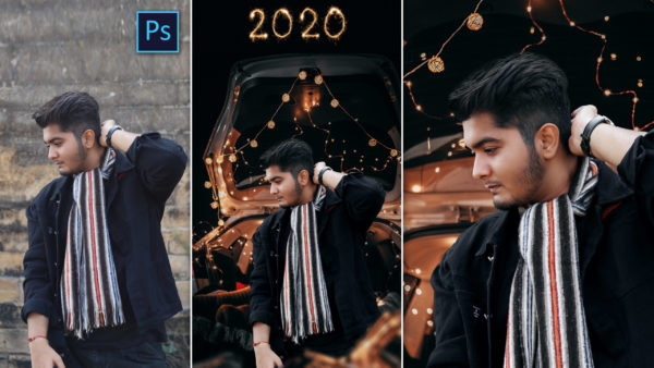 New Year 2020 Special Photo Editing in Photoshop