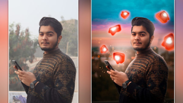 Calop Inspired 3D Likes Social Media Photo Editing in Photoshop cc | How to Edit Like @Calop in photoshop
