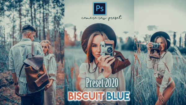 Download Biscuit Blue Camera Raw Preset of 2020 for Free | Biscuit Blue Camera Raw Preset Pack of 2020 Download free