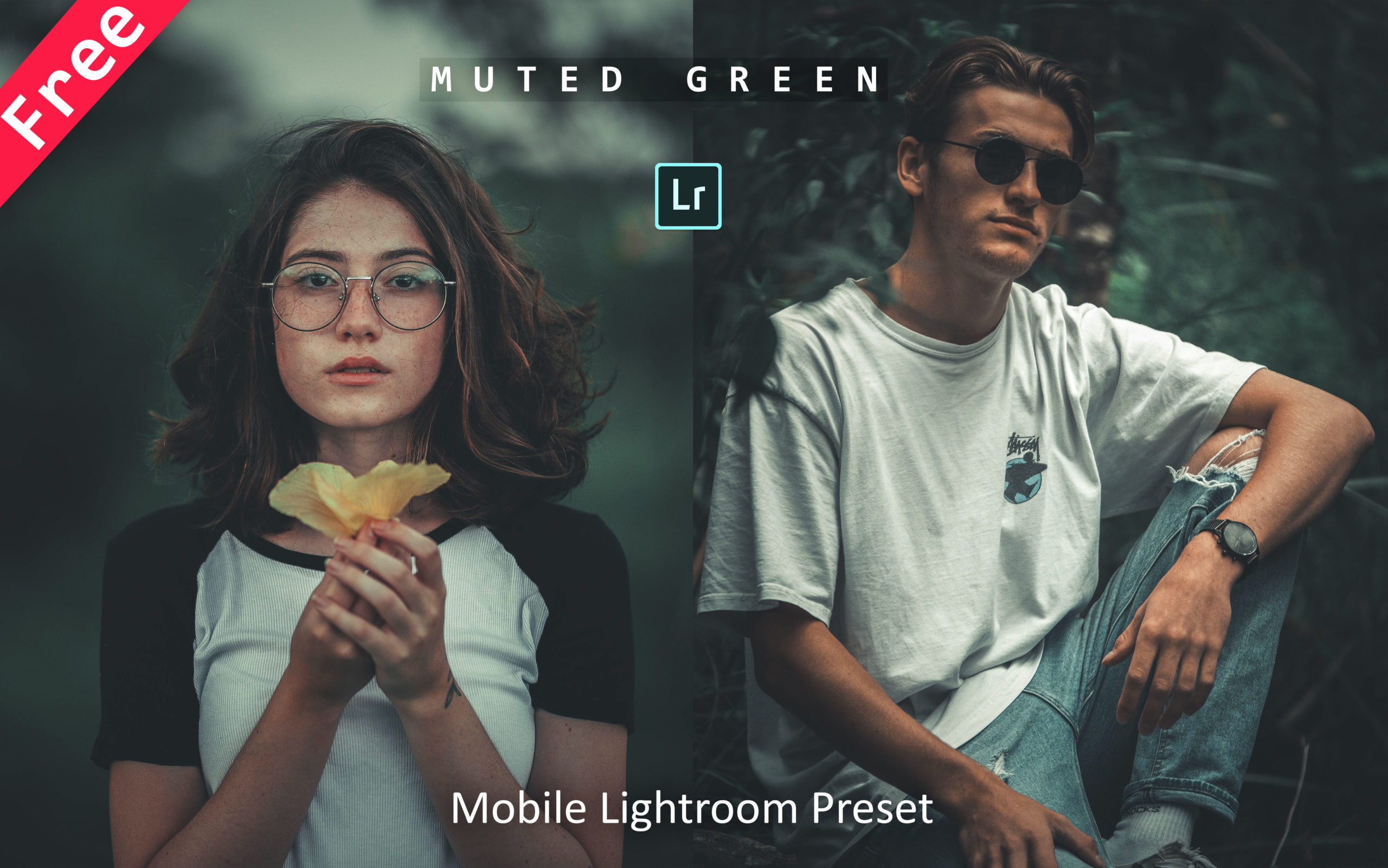 Download Muted Green Mobile Lightroom Preset for Free | How to Edit Photos Like Muted Green Effect in Mobile Lightroom