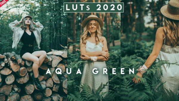 Download Free Aqua Green LUTs of 2020 | New Colorlookup 3DLuts of 2020 Aqua Green Free Download