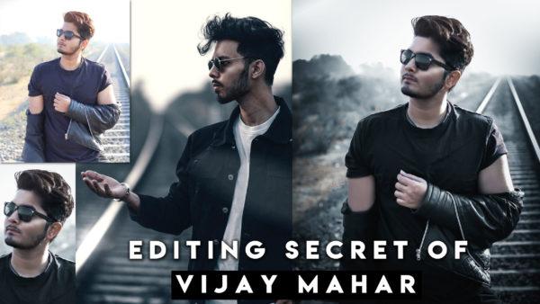 Secret of Vijay Mahar's Photo Editing | How to Edit Photos Like Vijay Mahar | How to Smoothen Skin Like Vijay Mahar