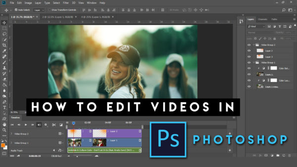 How to Edit Videos in Photoshop cc | Complete Video Editing Guide for Photoshop | How to Color Grade Videos in Photoshop
