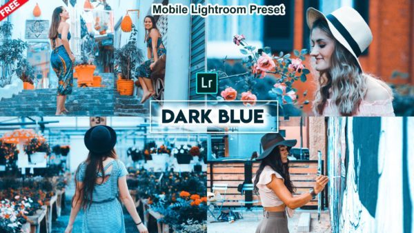 Download Dark Blue Mobile Lightroom DNG Preset of 2020 for Free | Dark Blue Mobile Lightroom Preset DNG of 2020 Download free