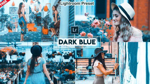 Download Dark Blue Lightroom Preset of 2020 for Free | Dark Blue Lightroom Preset Pack of 2020 Download free