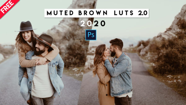 Download Free Muted Brown 2.0 LUTs of 2020 | How to Install LUTs in Photoshop