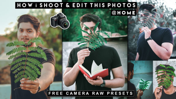 How to Shoot Creative Portraits at Home | Download Top 5 Leaf Camera Raw Presets | Leaf Photography @Home
