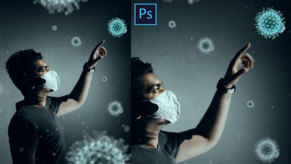 Corona Virus Creative Photo Manipulation in Photoshop | #BE_SAFE | Covid-19 Awareness Photo