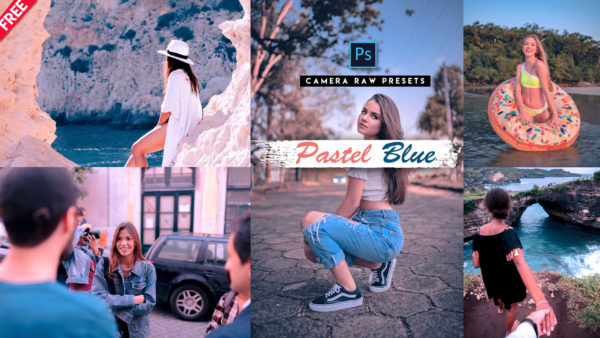 Download Pastel Blue Camera Raw Preset of 2020 for Free | Pastel Blue Camera Raw Preset Pack of 2020 Download free