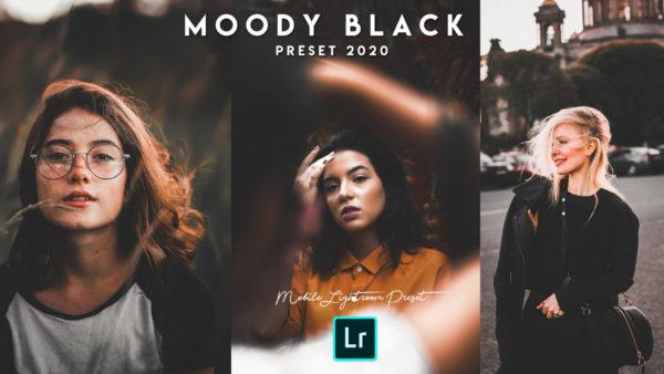 Download Moody Black Mobile Lightroom DNG Preset of 2020 for Free | Moody Black Mobile Lightroom Preset DNG of 2020 Download free