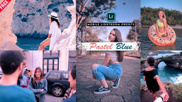 Download Pastel Blue Lightroom Mobile Presets DNG of 2020 for Free | Pastel Blue Mobile Lightroom Preset DNG of 2020 Download free