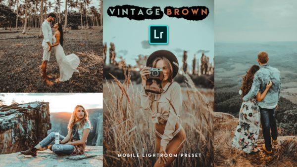 Download Vintage Brown Lightroom Mobile Presets DNG of 2020 for Free   Vintage Brown Mobile Lightroom Preset DNG of 2020 Download free