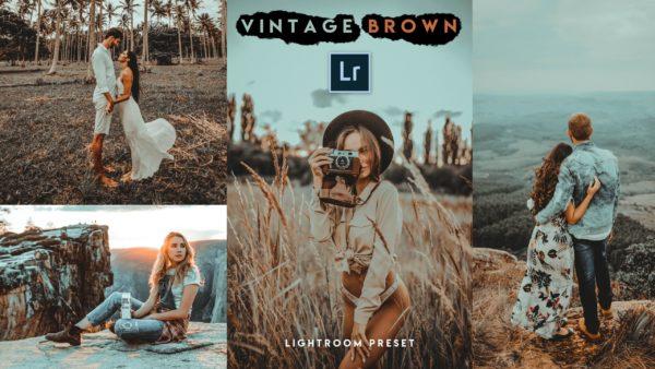Download Vintage Brown Lightroom Presets of 2020 for Free   Vintage Brown Desktop Lightroom Presets