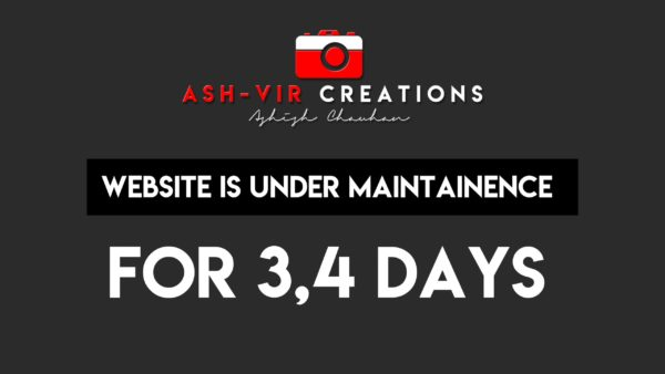 Website is under maintainence for 3,4 days.