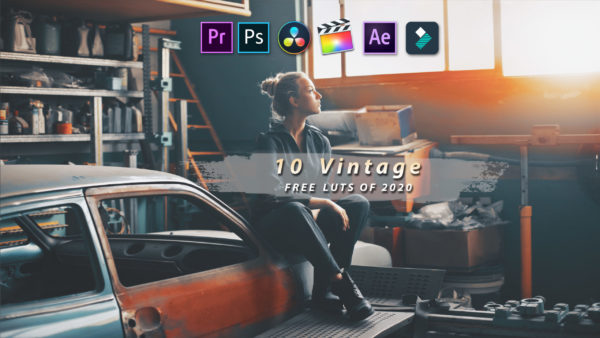 Download Free Top 10 VINTAGE LUTs of 2020 for Premiere Pro, Photoshop, After Effects, Da Vinci Resolve & More