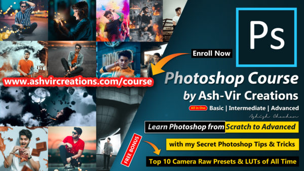 Complete Photoshop Course with My Secret Tips & Tricks (Enroll Now) | How to Make Money with My Course | Top 10 LUTs & Camera Raw Presets of all Time