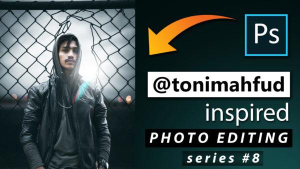Toni Mahfud Inspired Photo Editing Series #8 by @ashvircreations | How to Edit Photo Like Toni Mahfud in Photoshop cc 2020