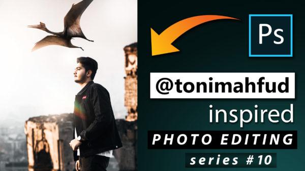 Toni Mahfud Inspired Photo Editing Series #10 by @ashvircreations | How to Edit Photo Like Toni Mahfud in Photoshop cc 2020