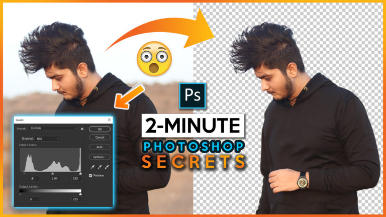 2 Minute Photoshop | Select Hairs & Subject with this New Trick (Quick & Easy) How to Select Hairs in Photoshop cc 2020 | How to Cutout Photo from Background in Photoshop cc 2020 Easily in 2 Minute