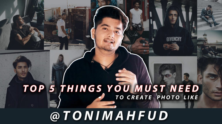 Top 5 Things You Need To Create Photos Like Toni Mahfud   Top 5 Toni Mahfud Outfits for Instagram