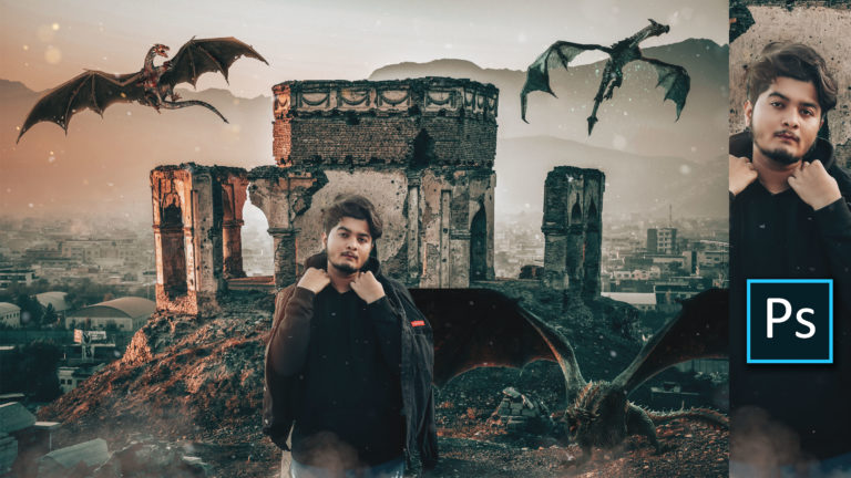 Game of Thrones Photo Editing Concept Art by @ashvircreations   How to Edit Photo Like Game of Thrones Fantasy Photo Manipulation in Photoshop   How to Color Grade Like Game of Thrones