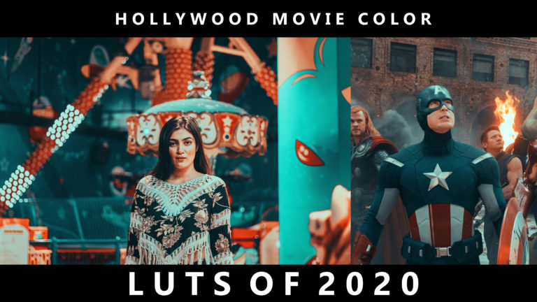 Download Free Hollywood Movie Color LUTs of 2020  | How to Colorgrade Photos Like Hollywood Movies in Photoshop