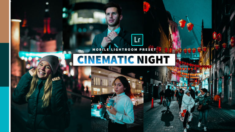 Download Cinematic Night Lightroom Mobile Presets DNG of 2020 for Free | Cinematic Night Mobile Lightroom Preset DNG of 2020 Download free
