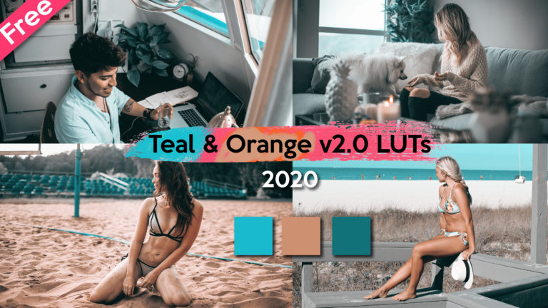 Premium Teal & Orange v2.0 LUTs of 2020 Free Download | New Teal & Orange LUTs of 2020 Download Free