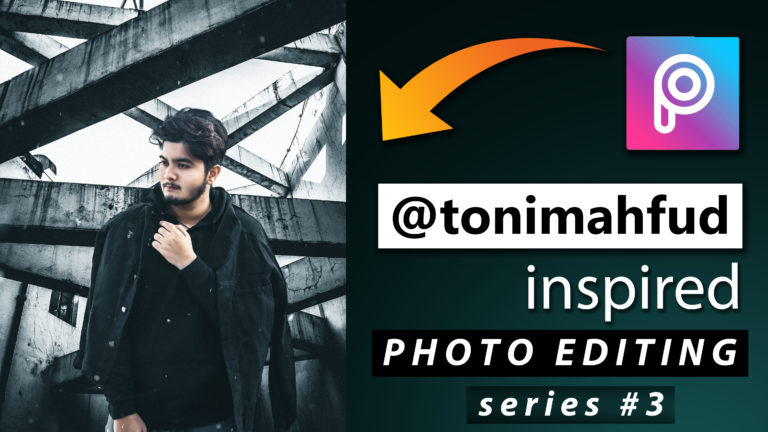 Toni Mahfud Inspired PicsArt Photo Editing Series #3 by @ashvircreations | How to Edit Photo Like Toni Mahfud in PicsArt | PicsArt Photo Editing Tutorial