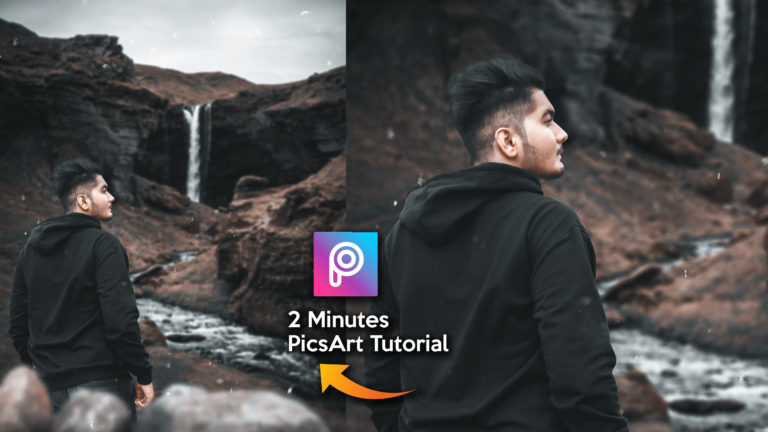 2 Minutes PicsArt Tutorial in Hindi | Moody Dark Cinematic Photo Editing in PicsArt | Realistic HD Photo Manipulation in PicsArt