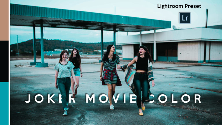 Download Joker Movie Lightroom Presets of 2020 for Free | Joker Movie Desktop Lightroom Presets | How to Edit Like Joker Movie Colorgrading