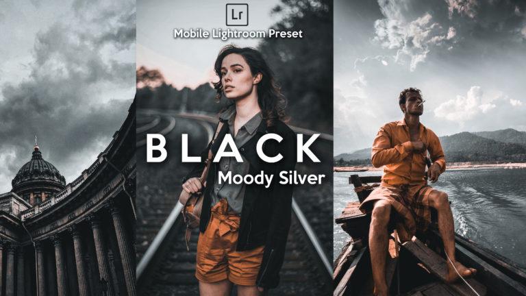 Download Black Moody Silver Lightroom Mobile Presets DNG of 2020 for Free | Black Moody Silver Mobile Lightroom Preset DNG of 2020 Download free | How to Edit Like Black Moody Silver