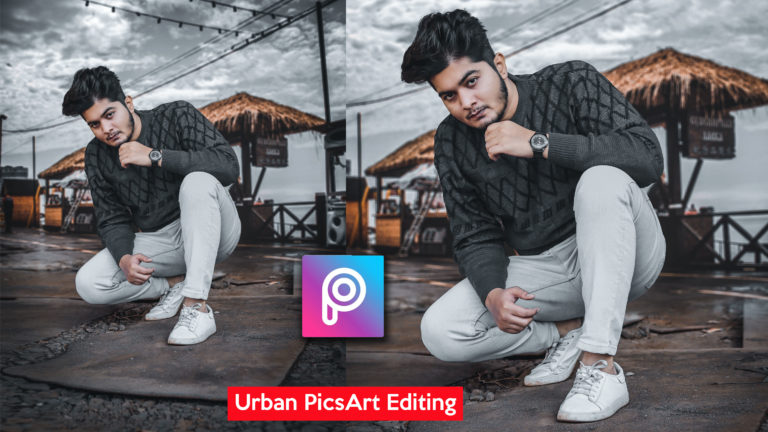 2-Minutes PicsArt Hindi Tutorial | Urban HD Realistic Photo Manipulation in PicsArt | Urban Photo Editing in PicsArt
