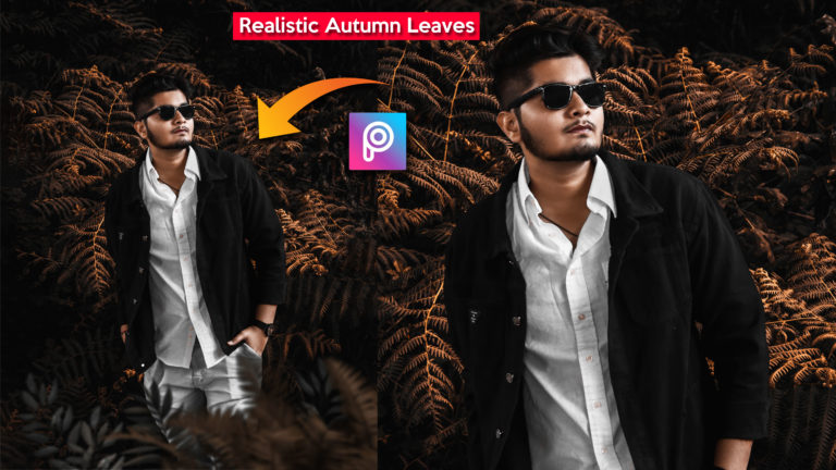 2-Minutes PicsArt Tutorial in Hindi | Autumn Leaves Realistic HD Photo Editing in PicsArt