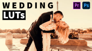 Download Free Wedding LUTs | How to Colorgrade Wedding Photos & Videos in Photoshop & Premiere Pro