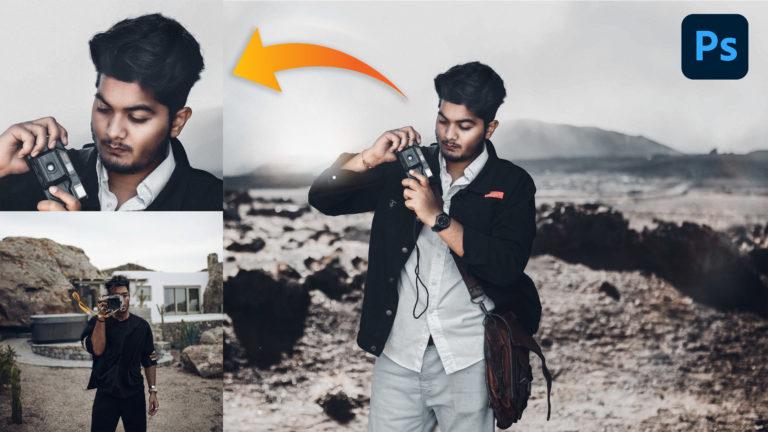 Camera Click | Toni Mahfud Inspired Photo Manipulation in Photoshop CC + Free Toni Mahfud XMP Preset