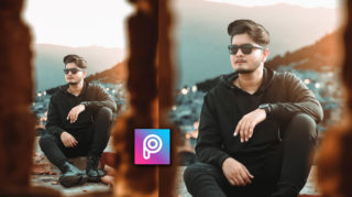 2-Minutes PicsArt Tutorial in Hindi | Realistic HD Photo Editing in PicsArt | HD Background Blur in PicsArt